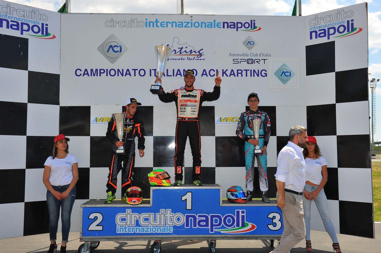nicola bartolini podio kart